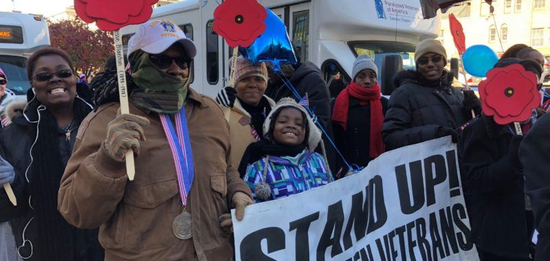 Stand Up! for Women Veterans at 2018 Parade